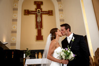 Milwaukee wedding photographer at St. Hedwig Catholic Church